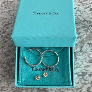 Tiffany Paloma Picasso Hammered Hoop Earrings
